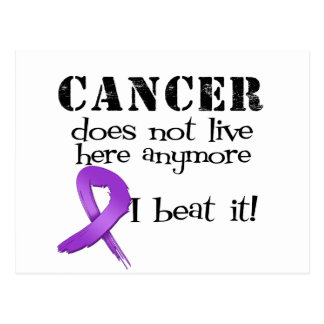 Leiomyosarcoma Cancer Does Not Live Here Anymore Postcard