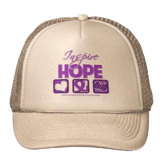 Leiomyosarcoma Cancer Inspire Hope Trucker Hat