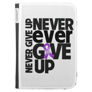 Leiomyosarcoma Cancer Never Ever Give Up Kindle 3G Cases