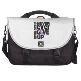 Leiomyosarcoma Cancer Never Ever Give Up Laptop Bag