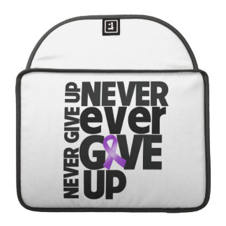 Leiomyosarcoma Cancer Never Ever Give Up Sleeves For MacBook Pro