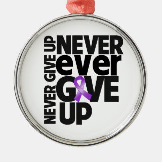 Leiomyosarcoma Cancer Never Ever Give Up Ornament