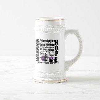 Leiomyosarcoma Cancer Warrior Fight Slogans Coffee Mugs