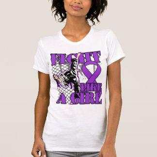 Leiomyosarcoma Fight Like A Girl Kick Shirts