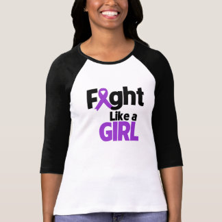 Leiomyosarcoma Fight Like a Girl T-shirts