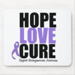 Leiomyosarcoma Hope Love Cure Mouse Mat