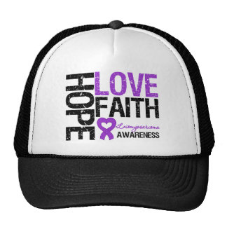Leiomyosarcoma Hope Love Faith Hats