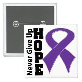 Leiomyosarcoma Hope Never Give Up Button
