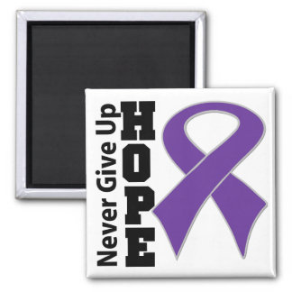 Leiomyosarcoma Hope Never Give Up Refrigerator Magnets