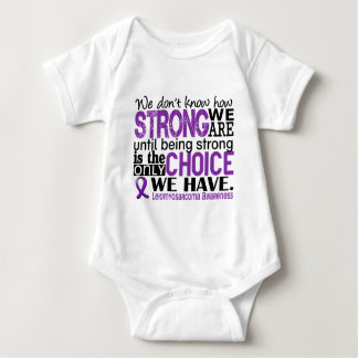 Leiomyosarcoma How Strong We Are Baby Bodysuit