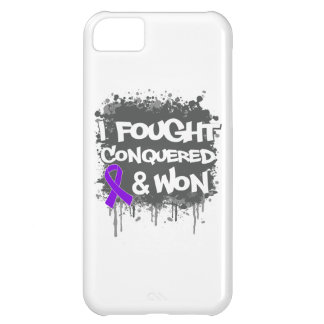 Leiomyosarcoma I Fought Conquered Won iPhone 5C Cover