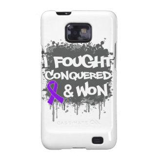 Leiomyosarcoma I Fought Conquered Won Galaxy S2 Cases