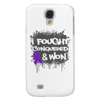 Leiomyosarcoma I Fought Conquered Won Samsung Galaxy S4 Cover
