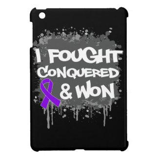 Leiomyosarcoma I Fought Conquered Won iPad Mini Cases
