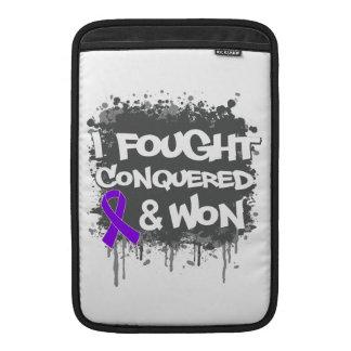 Leiomyosarcoma I Fought Conquered Won MacBook Sleeves