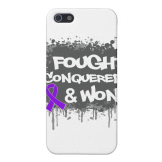 Leiomyosarcoma I Fought Conquered Won Covers For iPhone 5