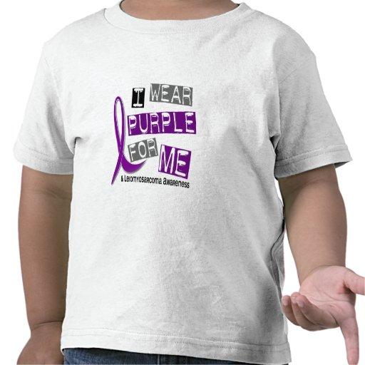 LEIOMYOSARCOMA I Wear Purple For Me 37 T-shirts