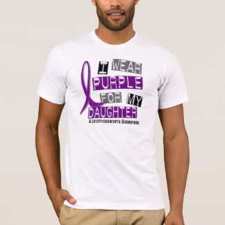 LEIOMYOSARCOMA I Wear Purple For My Daughter 37 T-Shirt