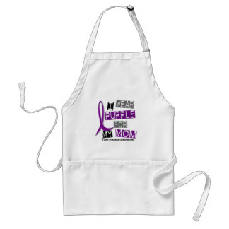 LEIOMYOSARCOMA I Wear Purple For My Mom 37 Adult Apron