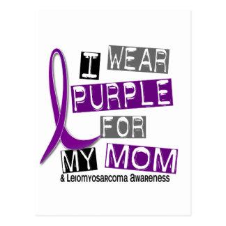 LEIOMYOSARCOMA I Wear Purple For My Mom 37 Postcard