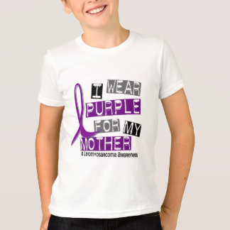 LEIOMYOSARCOMA I Wear Purple For My Mother 37 T-Shirt