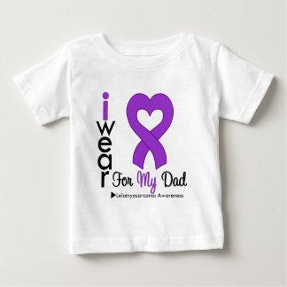 Leiomyosarcoma I Wear Purple Ribbon For My Dad Baby T-Shirt