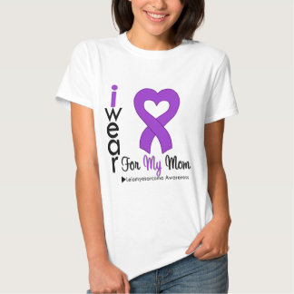 Leiomyosarcoma I Wear Purple Ribbon For My Mom