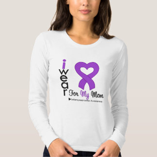 Leiomyosarcoma I Wear Purple Ribbon For My Mom Dresses