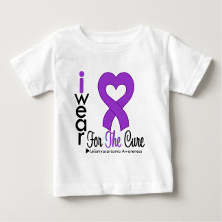 Leiomyosarcoma I Wear Purple Ribbon For The Cure Baby T-Shirt