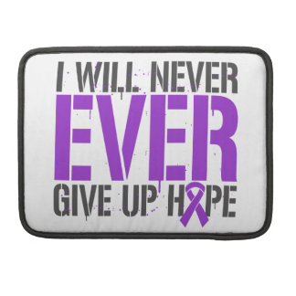 Leiomyosarcoma I Will Never Ever Give Up Hope MacBook Pro Sleeve