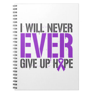 Leiomyosarcoma I Will Never Ever Give Up Hope Spiral Notebooks