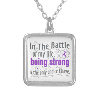 Leiomyosarcoma In The Battle Personalized Necklace