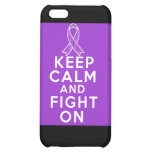 Leiomyosarcoma Keep Calm and Fight On iPhone 5C Cover