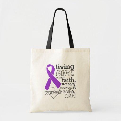 Leiomyosarcoma Living Life With Faith Bags