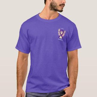 Leiomyosarcoma (LMS) Awareness Ribbon Angel Shirts