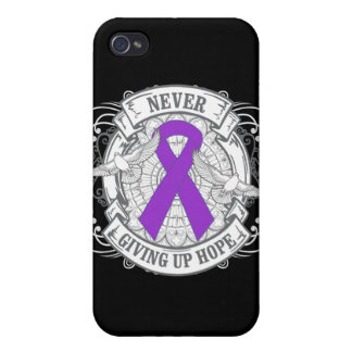 Leiomyosarcoma Never Giving Up Hope iPhone 4/4S Covers