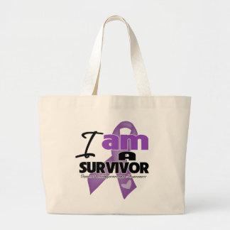 Leiomyosarcoma - soy un superviviente bolsa lienzo