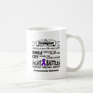 Leiomyosarcoma Strongest Among Us Coffee Mug