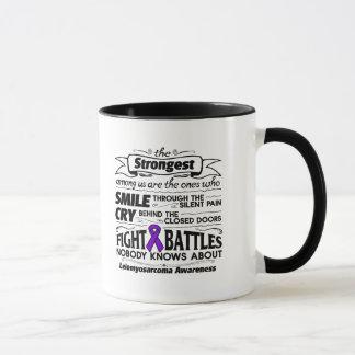 Leiomyosarcoma Strongest Among Us Mug