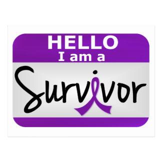 Leiomyosarcoma Survivor 24.png Postcard