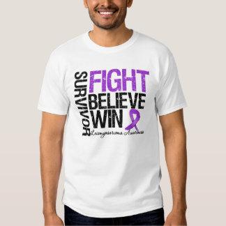 Leiomyosarcoma Survivor Fight Believe Win Motto Dresses