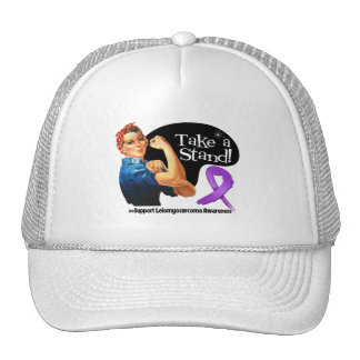 Leiomyosarcoma Take a Stand Trucker Hats