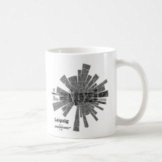 Leipzig Map Mug