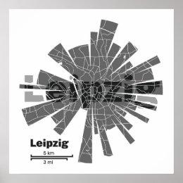 Leipzig Street Map Gifts on Zazzle