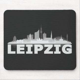 Leipzig town center of skyline Mousepad