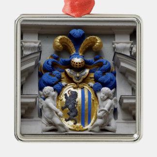 Leipziger coat of arms Saxonia Goethe Naschmarkt Metal Ornament