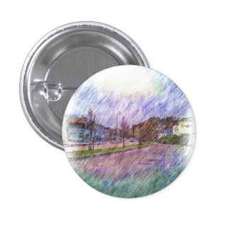 Leirvik photo drawing 1 inch round button