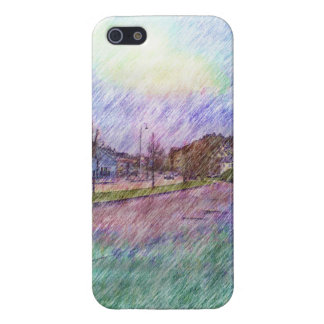 Leirvik photo drawing iPhone 5/5S case