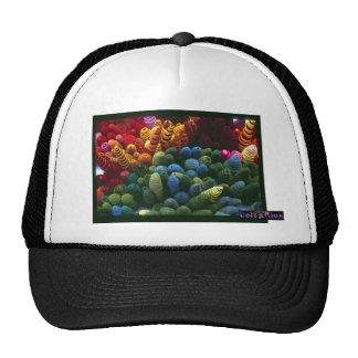 """Leisa Rich: """"Rhodochrosite"""" Trucker Hat"""