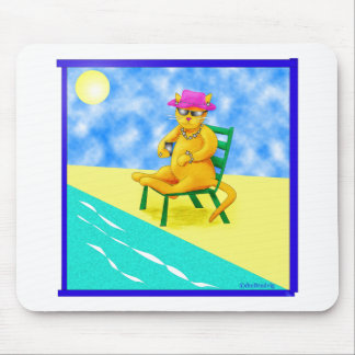 Leisure Cat Mouse Pad